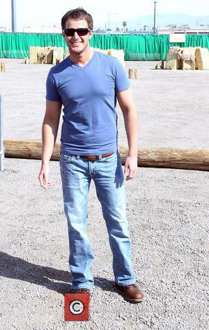 Easton Corbin - ACM & Cabela's Great Outdoors Archery Event during the ACM Experience at The Orleans Hotel Casino -...