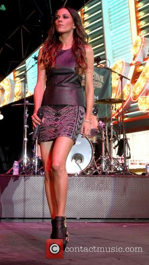 Jana Kramer - The ACM Fremont Street Concerts - Day 2 - Las Vegas, Nevada, United States - Saturday 6th...