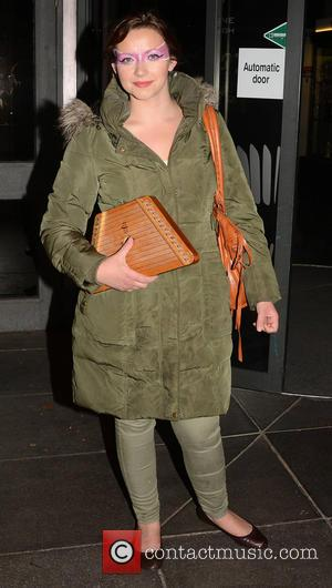 Charlotte Church - Celebrities outside the RTE Studios for 'The Saturday Night Show' - Dublin, Ireland - Saturday 6th April...