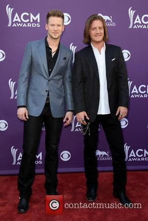 Florida Georgia Line - 48th Annual ACM Awards held at the MGM Grand Garden Arena inside MGM Grand - Arrivals...