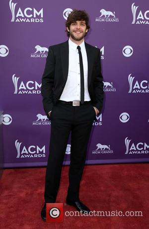 Thomas Rhett - 48th Annual ACM Awards held at the MGM Grand Garden Arena inside MGM Grand - Arrivals -...
