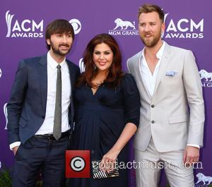 Lady Antebellum - 48th Annual ACM Awards held at the MGM Grand Garden Arena inside MGM Grand - Arrivals -...