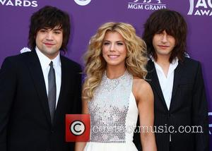 The Band Perry, Reid Perry, Kimberly Perry and Neil Perry - 48th Annual ACM Awards held at the MGM Grand...