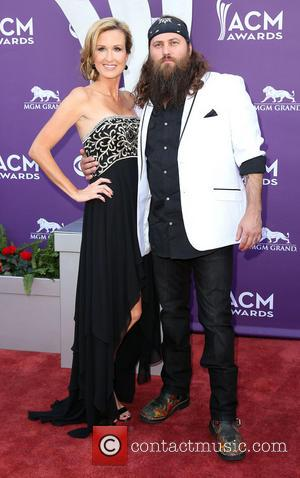 Korie Robertson and Willie Robertson - 48th Annual ACM Awards held at the MGM Grand Garden Arena inside MGM Grand...