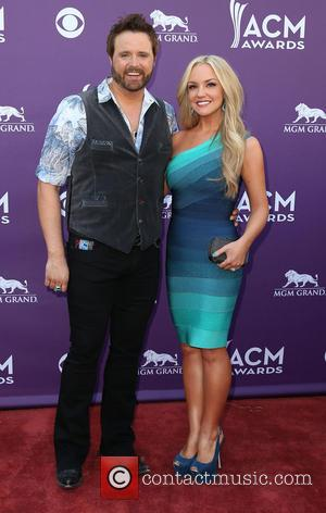 Randy Houser and Jessa Lee Yantz - 48th Annual ACM Awards held at the MGM Grand Garden Arena inside MGM...