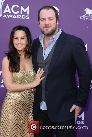 Sarah Reevely and Lee Brice - 48th Annual ACM Awards held at the MGM Grand Garden Arena inside MGM Grand...