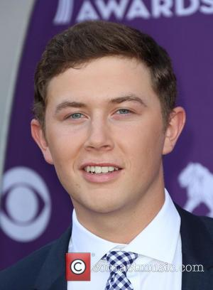 Scotty McCreery - 48th Annual ACM Awards held at the MGM Grand Garden Arena inside MGM Grand - Arrivals -...