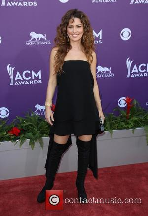 Shania Twain - 48th Annual ACM Awards held at the MGM Grand Garden Arena inside MGM Grand - Arrivals -...