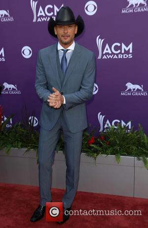 Tim McGraw - 48th Annual ACM Awards held at the MGM Grand Garden Arena inside MGM Grand - Arrivals -...