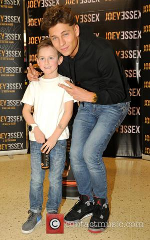 Joey Essex and Fan Brad Avery