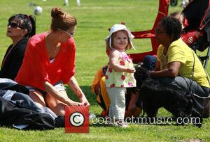 Victoria Prince and Jordan Federline - Kevin Federline with partner Victoria Prince and family at a children's soccer tournament at...