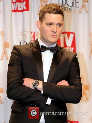 Michael Buble - TV Week Logie Awards at Crown Casino - Press Room - Melbourne, Victoria, Australia - Sunday 7th...