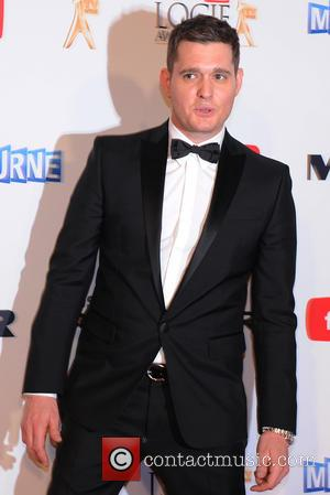 Michael Buble's Holiday Romp Solved Baby Woes