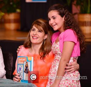 Nia Vardalos - Actress Nia Vardalos discusses and signs copies of her book 'Instant Mom' at St. Demetrois Greek Orthodox...
