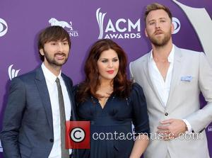 Dave Haywood, Hillary Scott from Lady Antebellum and Charles Kelley - 48th Annual ACM Awards held at the MGM Grand...