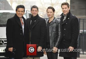 Sebastien Izambard, Carlos Marin, David Miller and Urs Buhler