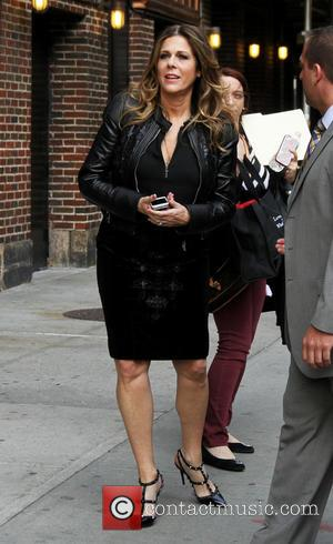 Rita Wilson - Celebrities at the Ed Sullivan Theater for 'The Late Show With David Letterman' - New York City,...