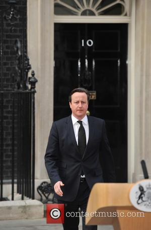 Prime Minister David Cameron - Prime Minister David Cameron speaks outside 10 Downing Street paying tribute to former British Prime...