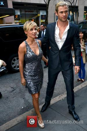 Elsa Pataky and Chris Hemsworth - 2013 Inaugural Oceana Ball hosted by Christie's at Christie's- Arrivals - New York City,...