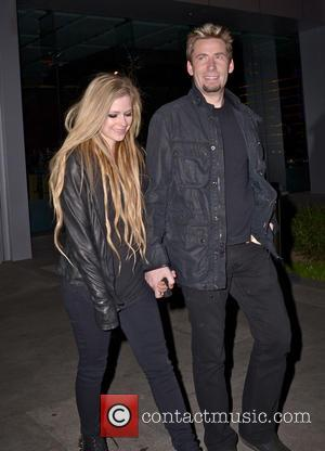 Chad Kroeger and Avril Lavigne - Avril Lavigne and Chad Kroeger out and about - Los Angeles, California, United States...