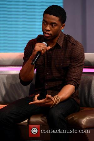Chadwick Boseman - Celebrities at BET's 106 and Park - New York, New York, United States - Monday 8th April...