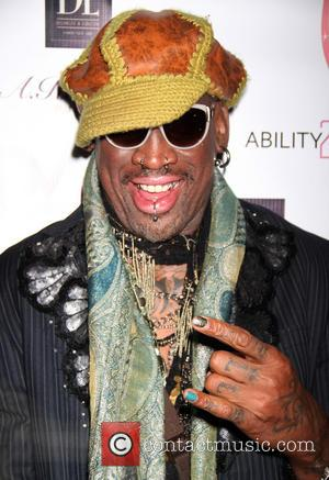 Dennis Rodman - Dennis Rodman hosts Cara Quici's video release party for 'Fight', a remake of the Beastie Boys' 'Fight...
