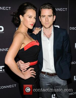 America Olivo and Christian Campbell - New York screening of 'Disconnect' at the SVA Theater in Manhattan - Arrivals -...