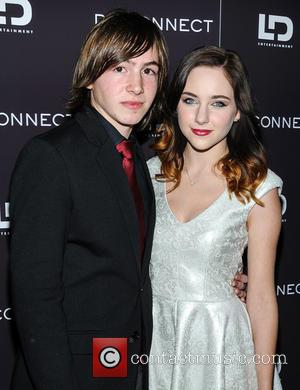 Jonah Bobo and Haley Ramm