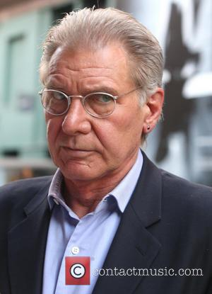 Harrison Ford - Harrison Ford wearing wire rimmed glasses, leaves his hotel - New York City, United States - Monday...