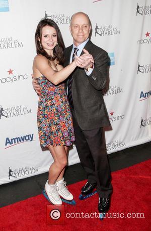 Sasha Cohen and Scott Hamilton