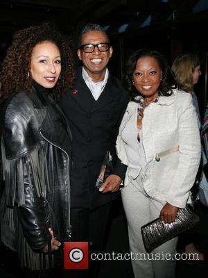 Tamara Tunie, B Michael and Star Jones