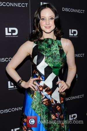 Andrea Riseborough - New York screening of 'Disconnect' at the SVA Theater in Manhattan - New York City, NY, United...