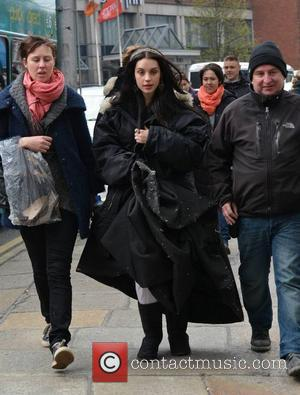 Adelaide Kane - 'Reign', Mary Queen of Scots CBS TV Studios film, shooting at Christ Church - Day 2 -...