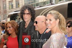 Melanie Brown, Mel B, Howie Mandel, Heidi Klum and Howard Stern