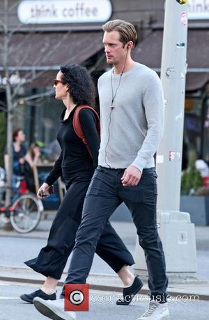 Alexander Skarsgard - Alexander Skarsgard seen out and about in Manhattan - New York City, New York , United States...