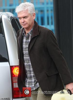 Phillip Schofield - Celebrities outside the ITV Studios - London, United Kingdom - Tuesday 9th April 2013