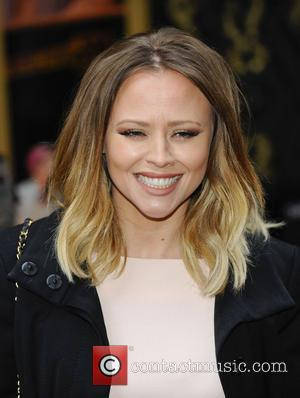 Kimberley Walsh - Once The Musical at the Phoenix Theatre - Arrivals - London, United Kingdom - Tuesday 9th April...