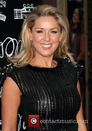 Claire Sweeney - Once The Musical at the Phoenix Theatre - Arrivals - London, Great Britain - Tuesday 9th April...