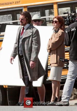 Christian Bale and Amy Adams