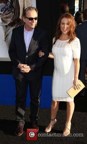 Alyssa Milano and Thomas M. Milano