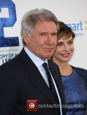 Harrison Ford - Los Angeles premiere of '42' held at...