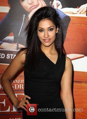 Janina Gavankar - Los Angeles premiere of HBO's 'VEEP' Season 2 at Paramount Studios - Los Angeles, California, United States...