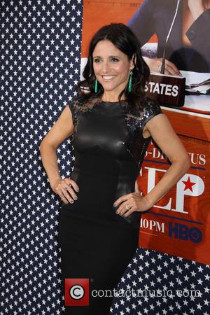 Julia Louis-dreyfus Dines With Joe Biden At White House