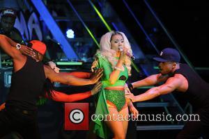 Keyshia Cole - Keyshia Cole performs at The Danforth Music Hall  during her 'Woman to Woman Tour'. - Toronto,...