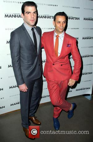 Zachary Quinto and James Aguiar