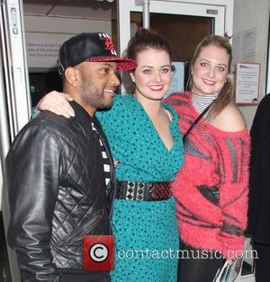 JB Gill and Chloe Tangney - 'Streets: A New Kind Of Musical' held at the Cockpit - London, United Kingdom...