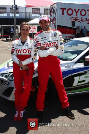 Kate del Castillo and Jesse Metcalfe - 2013 Toyota Pro/Celebrity Race at Long Beach - Los Angeles, California, United States...