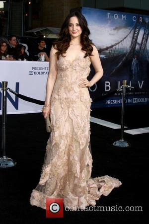 Andrea Riseborough - Celebrities attend Los Angeles premiere of 'Oblivion' at The Dolby Theatre. - Los Angeles, CA, United States...
