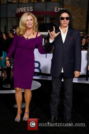 Shannon Tweed Simmons and Gene Simmons