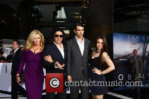 Shannon Tweed Simmons, Gene Simmons, Nick Simmons and Sophie Simmons